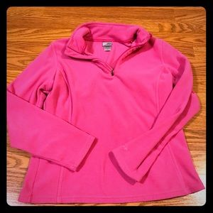 Pink champion pullover